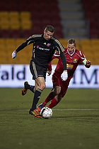Nicklas Helenius (Aab), Nikolaj Stokholm, anf�rer (FC Nordsj�lland)