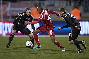 Joshua John (FC Nordsj�lland), Rasmus W�rtz (Aab)