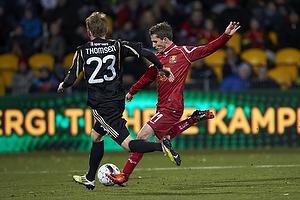 Morten Nordstrand (FC Nordsj�lland), Nicolaj Thomsen (Aab)