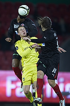 Brent McGrath (Br�ndby IF), Erik Sviatchenko (FC Midtjylland)