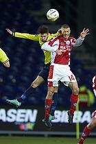 Dennis Flinta (Silkeborg IF), Daniel Stenderup (Br�ndby IF)