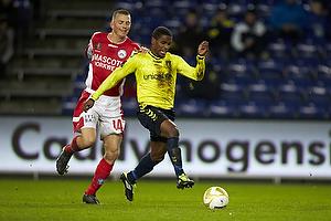 Dennis Flinta (Silkeborg IF), Quincy Antipas (Br�ndby IF)