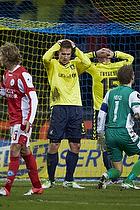Martin Albrechtsen (Br�ndby IF), Lasse Heinze (Silkeborg IF)