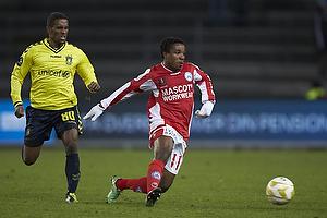 Adeola Runsewe (Silkeborg IF), Quincy Antipas (Br�ndby IF)