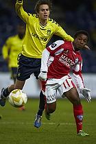 Adeola Runsewe (Silkeborg IF), Mathias Gehrt (Br�ndby IF)
