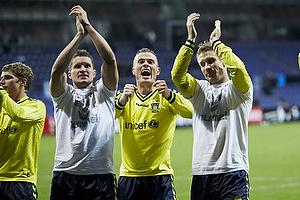 Jan Kristiansen (Br�ndby IF), Mikkel Thygesen (Br�ndby IF), Martin Albrechtsen (Br�ndby IF)
