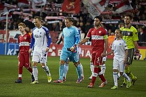Lars Jacobsen (FC K�benhavn), Sven Ulreich (VfB Stuttgart), Kim Christensen (FC K�benhavn), Serdar Tasci (VfB Stuttgart)