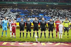 Craig Thomson, dommer (SCO), Kim Christensen (FC K�benhavn), Lars Jacobsen (FC K�benhavn), Serdar Tasci (VfB Stuttgart), Sven Ulreich (VfB Stuttgart)