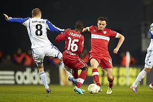 William Kvist (VfB Stuttgart), Ibrahima Traore (VfB Stuttgart), Christian Grindheim (FC K�benhavn)