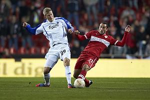 Andreas Cornelius (FC K�benhavn), Christian Molinaro (VfB Stuttgart)
