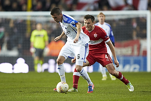 Claudemir De Souza (FC K�benhavn), William Kvist (VfB Stuttgart)