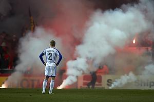 Lars Jacobsen (FC K�benhavn), VfB Stuttgart-fans