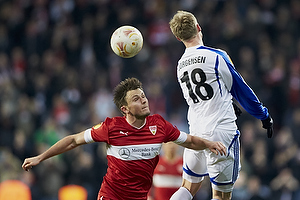 William Kvist (VfB Stuttgart), Nicolai J�rgensen (FC K�benhavn)