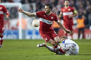 William Kvist (VfB Stuttgart), Andreas Cornelius (FC K�benhavn)