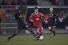 Andreas Laudrup (FC Nordsj�lland), Adama Tamboura (Randers FC)