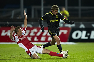 Jens Larsen (Br�ndby IF), Christopher Poulsen (Silkeborg IF)