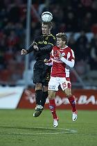 Martin Albrechtsen (Br�ndby IF), Nicolaj Ritter (Silkeborg IF)