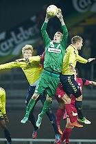 Simon Makienok Christoffersen (Br�ndby IF), Martin Albrechtsen (Br�ndby IF), Lukas Hradecky (Esbjerg fB)