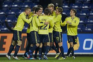 Simon Makienok Christoffersen (Br�ndby IF), Jens Larsen (Br�ndby IF), Mike Jensen (Br�ndby IF), Mikkel Thygesen (Br�ndby IF)