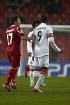 S�ren Christensen (FC Nordsj�lland), Luiz Adriano, m�lscorer (Shakhtar Donetsk)