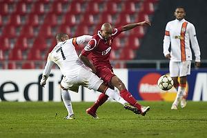 Fernandinho (Shakhtar Donetsk), Joshua John (FC Nordsj�lland)