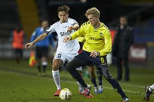 Simon Makienok Christoffersen (Br�ndby IF), Alexander Juel Andersen (AC Horsens)