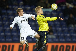 Thomas Kortegaard (AC Horsens), Simon Makienok Christoffersen (Br�ndby IF)
