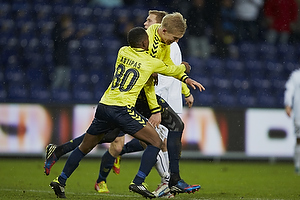 Simon Makienok Christoffersen, m�lscorer (Br�ndby IF), Quincy Antipas (Br�ndby IF)