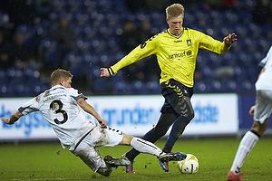 Simon Makienok Christoffersen (Br�ndby IF), Morten Rasmussen (AC Horsens)