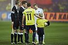 Dennis Rommedahl, anf�rer (Br�ndby IF), Lars Jacobsen, anf�rer (FC K�benhavn)