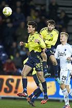 Dario Dumic (Br�ndby IF), Daniel Stenderup (Br�ndby IF), Andreas Cornelius (FC K�benhavn)