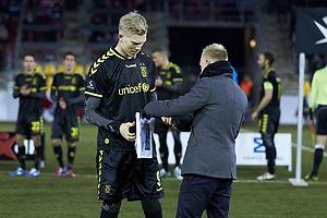 Simon Makienok Christoffersen (Br�ndby IF) k�ret til m�nedens spiller