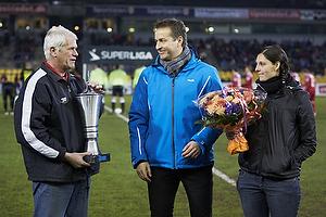 Kasper Hjulmand, cheftr�ner (FC Nordsj�lland) k�ret som �rets tr�ner
