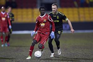 Enoch Adu (FC Nordsj�lland), Dennis Rommedahl (Br�ndby IF)