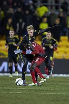 Simon Makienok Christoffersen (Br�ndby IF), Enoch Adu (FC Nordsj�lland)