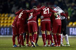 Enoch Adu (FC Nordsj�lland), Nikolaj Stokholm, anf�rer (FC Nordsj�lland), Ivan Runje (FC Nordsj�lland), Mario Ticinovic (FC Nordsj�lland), Jesper Hansen (FC Nordsj�lland)