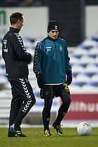 Mike Jensen (Br�ndby IF), Jan Hoffmann, m�lmandstr�ner  (Br�ndby IF)