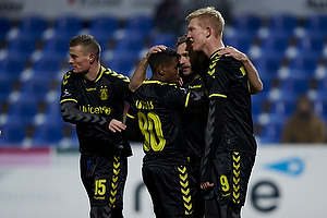 Mikkel Thygesen (Br�ndby IF), Quincy Antipas (Br�ndby IF), Dennis Rommedahl, m�lscorer (Br�ndby IF), Simon Makienok Christoffersen (Br�ndby IF)