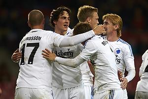 Thomas Delaney, m�lscorer (FC K�benhavn), Ragnar Sigurdsson (FC K�benhavn), Pierre Bengtsson (FC K�benhavn)