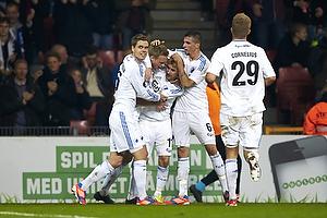 C�sar Santin, m�lscorer (FC K�benhavn), Claudemir De Souza (FC K�benhavn), Thomas Kristensen (FC K�benhavn), Andreas Cornelius (FC K�benhavn)