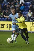 Jonas Kamper (Randers FC), Quincy Antipas (Br�ndby IF)