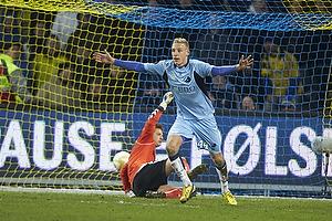 Nicolai Brock-Madsen, m�lscorer (Randers FC), Michael T�rnes (Br�ndby IF)