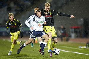 Simon Makienok Christoffersen (Br�ndby IF), Kasper Povlsen (Agf)