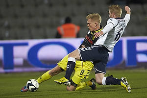 Simon Makienok Christoffersen (Br�ndby IF), Adam Eckersley (Agf)