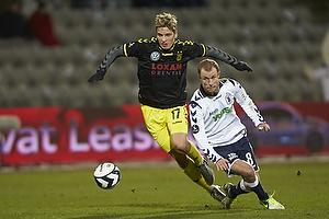 Jens Larsen (Br�ndby IF), Hjalte N�rregaard (Agf)