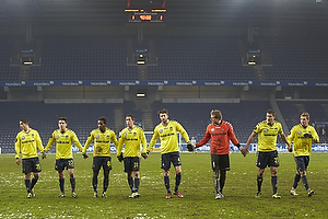 Patrick Da Silva (Br�ndby IF), Mathias Gehrt (Br�ndby IF), Quincy Antipas (Br�ndby IF), Frederik Holst (Br�ndby IF), Daniel Stenderup (Br�ndby IF), Michael T�rnes (Br�ndby IF), Jan Kristiansen (Br�ndby IF), Jens Larsen (Br�ndby IF)