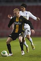 Steffen Kielstrup (AC Horsens), Cristian Bolanos (FC K�benhavn)