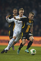 Nicolai J�rgensen (FC K�benhavn), Martin Spelmann (AC Horsens)