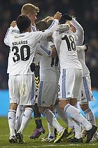 Cristian Bolanos (FC K�benhavn), C�sar Santin, m�lscorer (FC K�benhavn), Nicolai J�rgensen (FC K�benhavn)