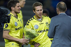Jan Kristiansen (Br�ndby IF), Anders Randrup (Br�ndby IF), Ole Bjur, sportschef (Br�ndby IF)